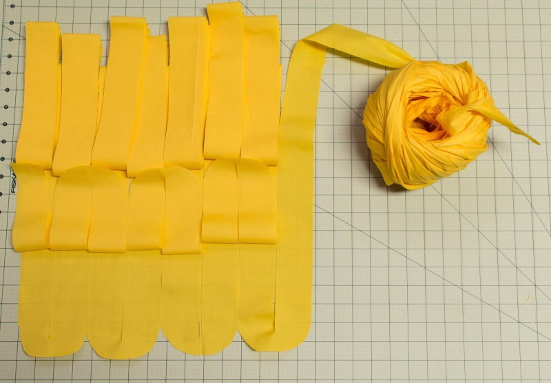 How to Make Fabric Yarn All in One Piece