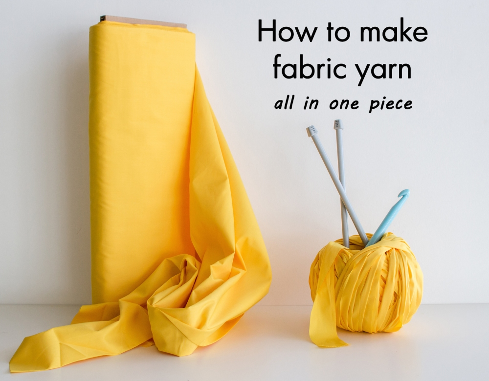 Fabric Yarn DIY Tutorial