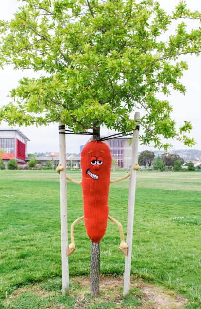 Stilt-Walking Carrot