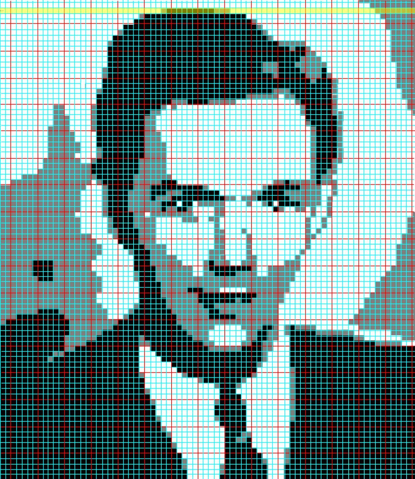 Filet Crochet Portraits Knits For Life