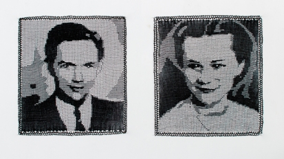 Filet Crochet Portraits