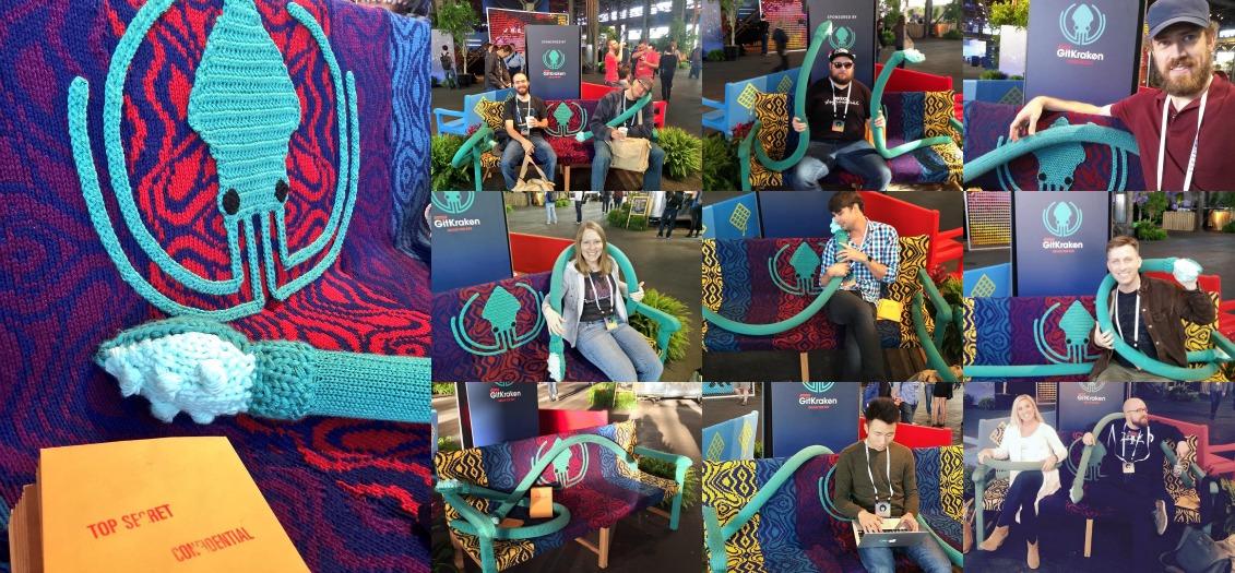 yarn bombing bench - photo #26