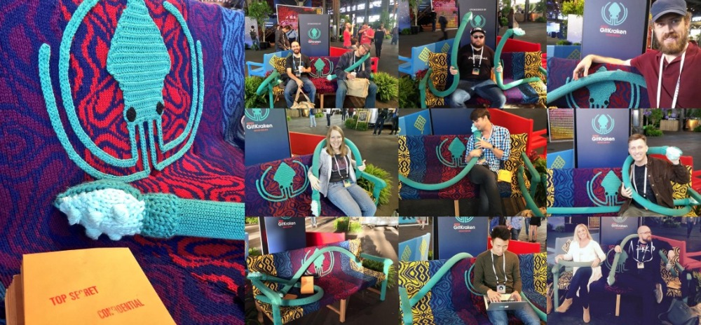 Knit Bench Yarn Bomb Knit Props GitKraken5