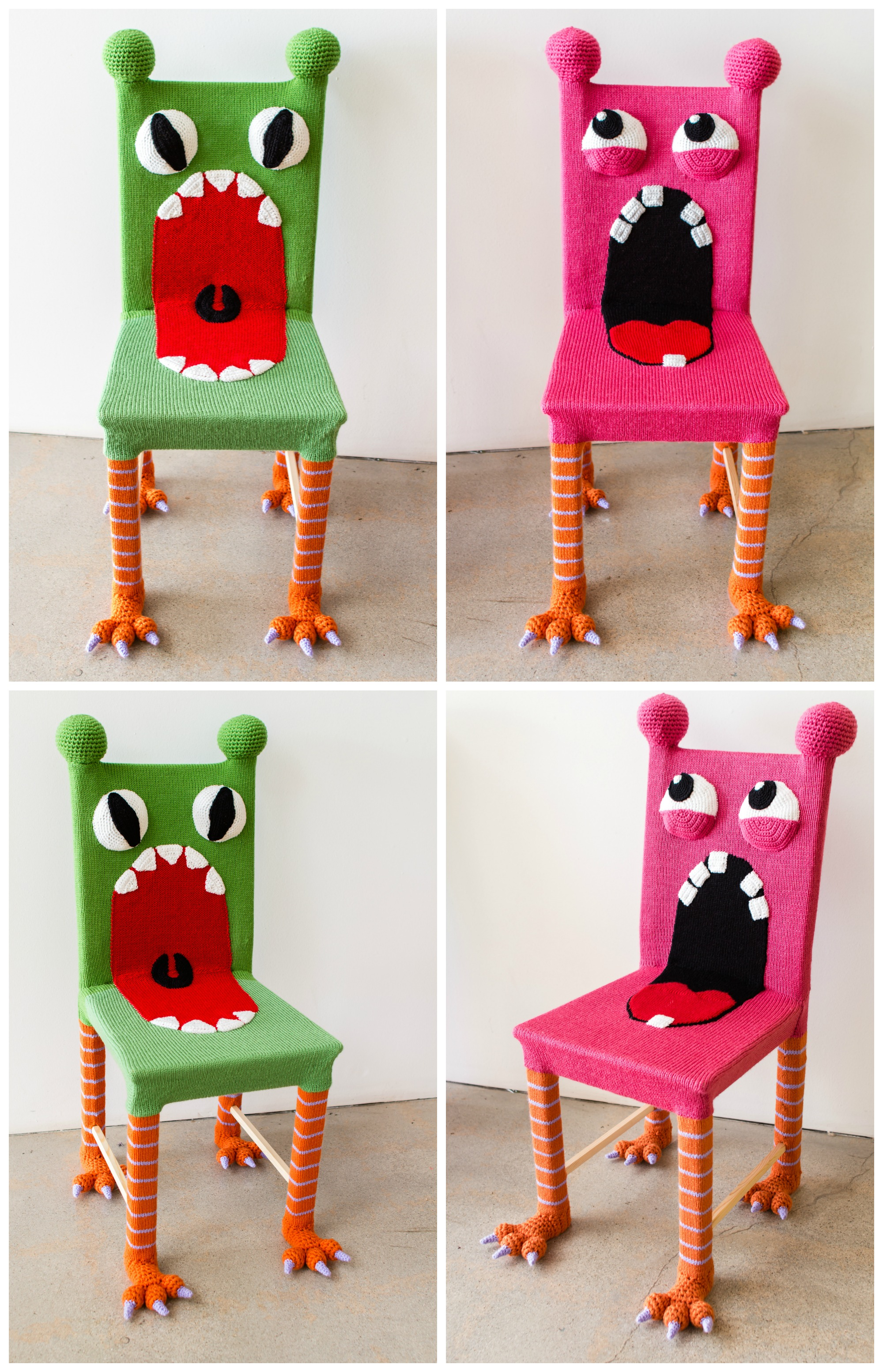 Monster Chairs | KNITS FOR LIFE