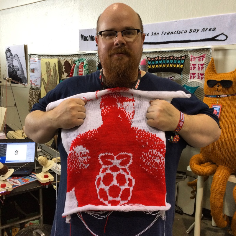 Knits for Life at Maker Faire Bay Area