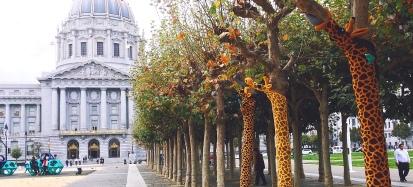 Knitting the Commons:Giraffes
