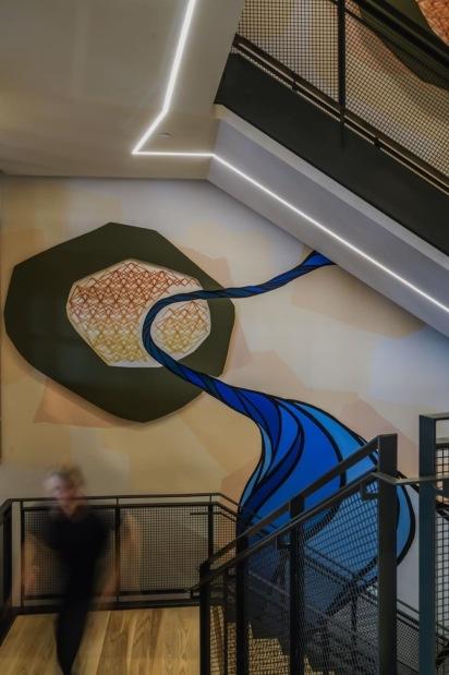 Atlassian 3D Mural